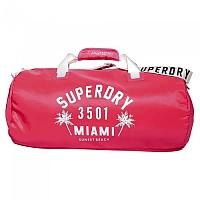 [해외]슈퍼드라이 Oleta Barrel Bag 35L Neon Pink