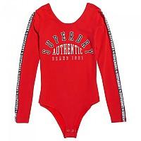 [해외]슈퍼드라이 Maddox Sporty Bodysuit Primary Red