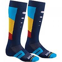 [해외]THOR Moto Knit Aktiv Blue / Yellow / Red