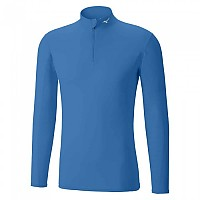 [해외]미즈노 Middle Weight Half Zip Blue