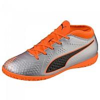 [해외]푸마 One 4 Synthetic IT Puma Silver / Shocking Orange