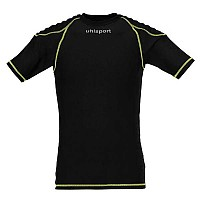 [해외]UHLSPORT Torwarttech Protec. Baselayer Shirt Ss Black / Fluoryellow
