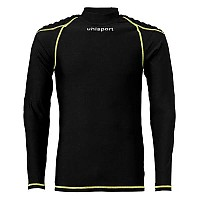 [해외]UHLSPORT Torwarttech Protec. Baselayer Shirt Ls Black / Fluoryellow