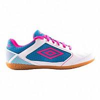[해외]엄브로 Sala Liga White / Pink Glo / Diva Blue
