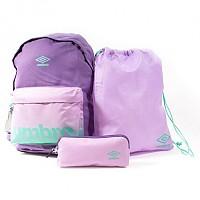 [해외]엄브로 BTS Backpack/Gymsack/Pencil Case Purple Sapphire / Smokey Grape / Marine