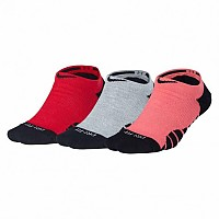 [해외]나이키 Dry Cushioned No Show 3 Pairs Multi-Color
