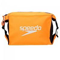 [해외]SPEEDO Pool Side Bag Black / Fluo Orange