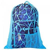 [해외]SPEEDO Deluxe Ventilator Mesh Bag Cage Blue