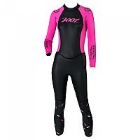 [해외]ZOOT Wave Free Swim SMU Black / High Viz Pink