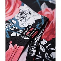 [해외]슈퍼드라이 Strappy Aop Bodysuit Rose Aop