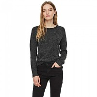 [해외]VERO MODA Doffy L/S O-Neck Black