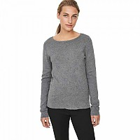 [해외]VERO MODA Glory Fullneedle L/S Medium Grey Melange
