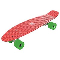 [해외]TRESPASS Concretebeat Skateboard Blood Red