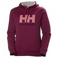 [해외]헬리 한센 Logo Hooded Plum