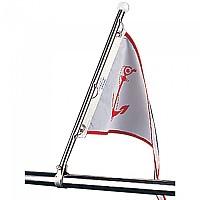 [해외]SEA-DOG LINE Flag Pole Rail Mount Stainless Steel