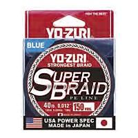 [해외]YO-ZURI Super Braid 4X 137m Blue