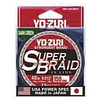 [해외]YO-ZURI Super Braid 4X 137m Dark Green