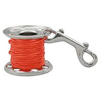 [해외]TECNOMAR Stainless Steel Finger Spool With Double End Clip Orange
