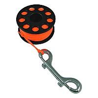 [해외]TECNOMAR Guide Reel With Double End Clip Orange