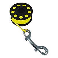 [해외]TECNOMAR Guide Reel With Double End Clip Yellow