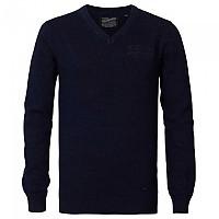 [해외]PETROL INDUSTRIES Knitwear V-Neck Dark Indigo