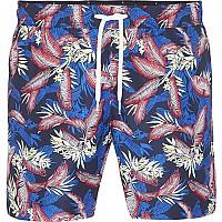 [해외]타미힐피거 Tropical Print Swim Tropic Leaf Navy Blazer