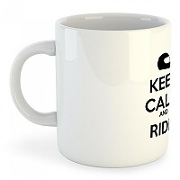 [해외]KRUSKIS Mug Keep Calm And Ride White