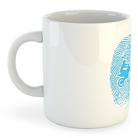 [해외]KRUSKIS Mug Off Road Fingerprint White