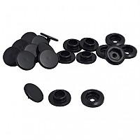 [해외]POLO PU Snap Buttons 2 Pieces Set Black