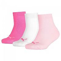 [해외]푸마 UNDERWEAR Quarter 3 Pack Pink Lady