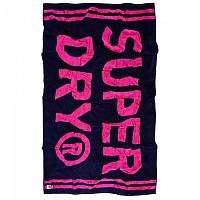 [해외]슈퍼드라이 Stripe Beach Towel Navy / Pink