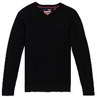 [해외]슈퍼드라이 Orange Label Cotton Vee Black