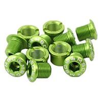 [해외]MSC Chainring Bolts Kit Alu7075T6 12 Units Green