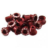 [해외]MSC Chainring Bolts Kit Alu7075T6 15 Units Red