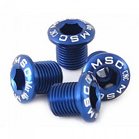 [해외]MSC Chainring Bolts Kit Alu7075T6 4 Units Blue