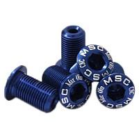 [해외]MSC Chainring Bolts Kit Alu7075T6 5 Units Blue