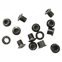 [해외]MSC Chainring Bolts Kit 스틸 15 Units Black