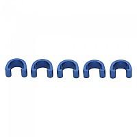 [해외]MSC Alu Cable Guide For Frames 5 Units Blue