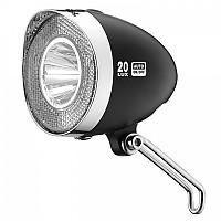 [해외]XLC Headlight Retro CL D03 20 Lux / Black
