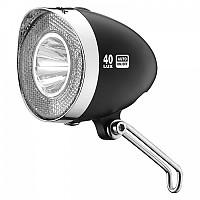 [해외]XLC Headlight Retro CL D04 40 Lux / Black