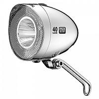 [해외]XLC Headlight Retro CL D04 40 Lux / Chrome