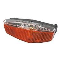 [해외]XLC LED Battery-rear light lug.carrier Black