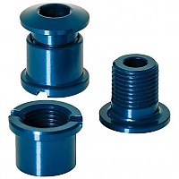 [해외]XLC Chain Ring Screws Coloured Edition 5 Pieces Blue
