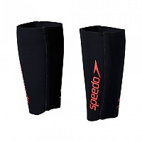 [해외]스피도 Fastskin Swim Run Calf Guards SOA19119 Black / Siren Red