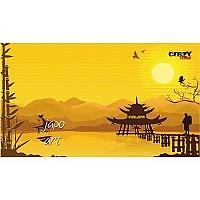 [해외]STT SPORT Crazy Towel Japanese Art Terry Loop Yellow