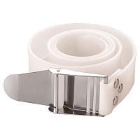 [해외]TECNOMAR Rubber Belt Inox Buckle White