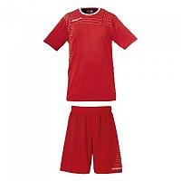 [해외]UHLSPORT Match Team Kit Shirt&Shorts Ss Women Red / White