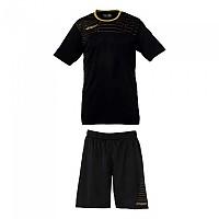 [해외]UHLSPORT Match Team Kit Shirt&Shorts Ss Women Black / Gold