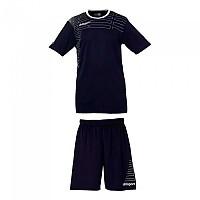 [해외]UHLSPORT Match Team Kit Shirt&Shorts Ss Women Navy / White