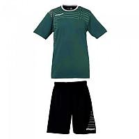 [해외]UHLSPORT Match Team Kit Shirt&Shorts Ss Women Lagoon / White